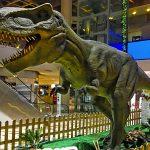 Noleggio dinosauri trex gigante animatronico