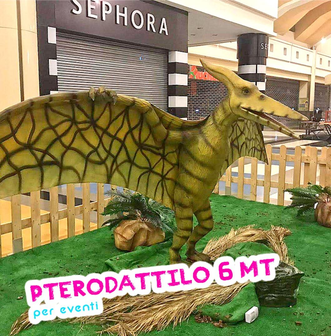riproduzione pterosauro robot