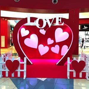 area scenografica san valentino noleggio