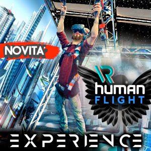 simulatore di volo umano virtuale