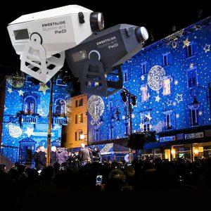 noleggio proiettori natalizi brescia professionali