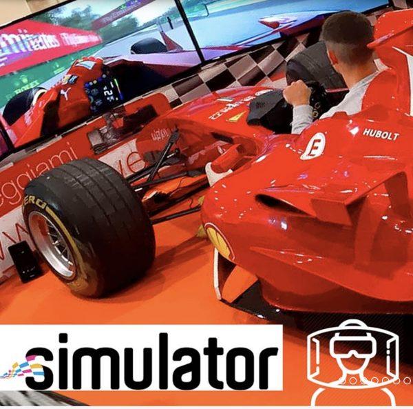 SIMULATORE F1 CON AUTO