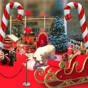 noleggio casa salotto di babbo natale noleggio brescia villaggio natalizio di babbo natale