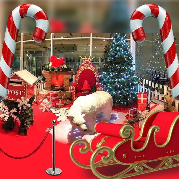 noleggio casa di babbo natale noleggio brescia villaggio natalizio di babbo natale