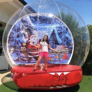 Noleggio Sfera natalizia gonfiabile globo 4 metri